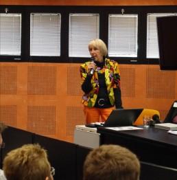 Anita villers, présidente de l'association EDA