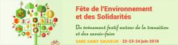 Fête de l'environnement et des Solidarités 2018
