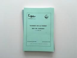 1992 : Sommet de la Terre Rio